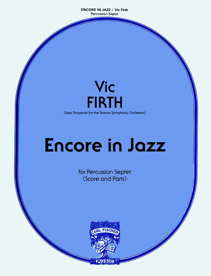 Encore In Jazz - Vic Firth - Partition - laflutedepan.com