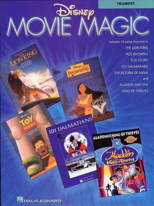 Disney Movie Magic DISNEY Partition Trompette - laflutedepan