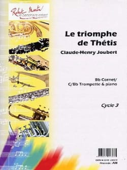 Le Triomphe de Thétis Claude-Henry Joubert Partition laflutedepan