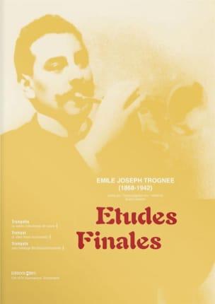Etudes Finales Emile Joseph Trognée Partition Trompette - laflutedepan