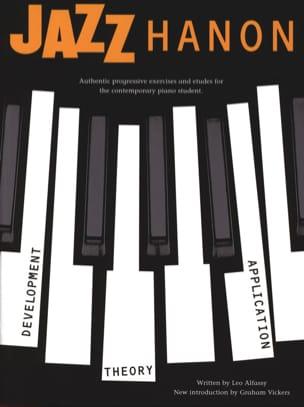 Jazz Hanon Revised Edition Leo Alfassy Partition Jazz - laflutedepan