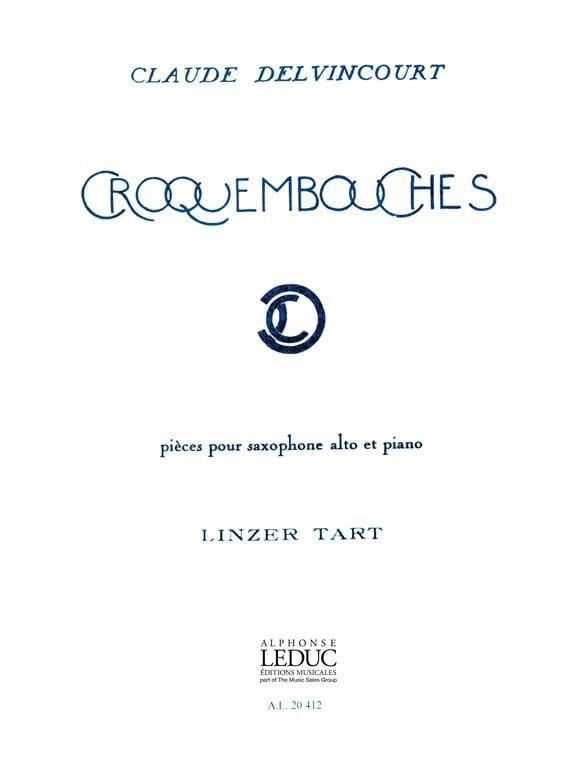 Croquembouches - Delvincourt - Partition - laflutedepan.com