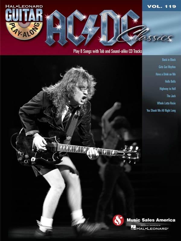 Guitar Play-Along Volume 119 - AC/DC Classics - laflutedepan.com