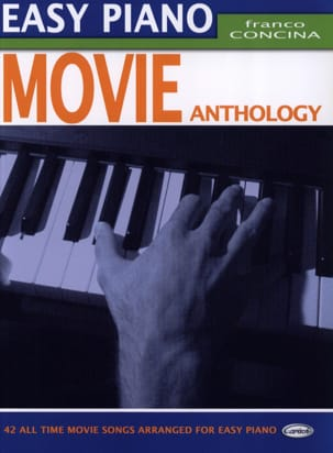 Easy Piano Movie Anthology Partition Musique de film - laflutedepan
