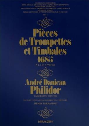 Pièces de Trompettes Et Timbales 1685 laflutedepan
