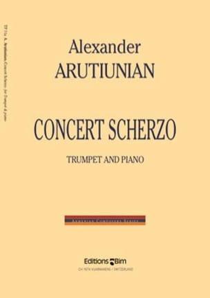 Concert Scherzo Alexander Arutiunian Partition laflutedepan