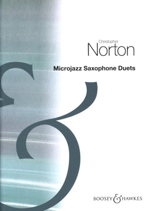 MicroJazz Saxophone Duets Christopher Norton Partition laflutedepan