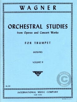 Orchestra Studies For Trumpet Volume 2 WAGNER Partition laflutedepan