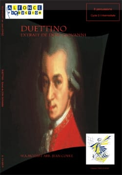 Duettino - Don Giovanni - MOZART - Partition - laflutedepan.com