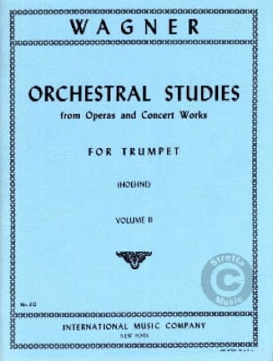 Orchestra Studies For Trumpet Volume 2 - WAGNER - laflutedepan.com