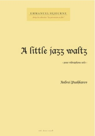 A little jazz waltz - Andrei Pushkarev - Partition - laflutedepan.com