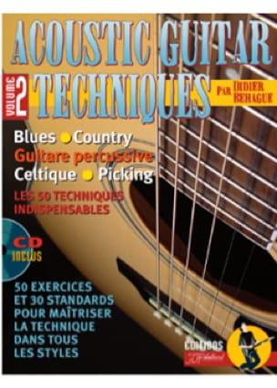 Acoustic Guitare Techniques Volume 2 - laflutedepan.com