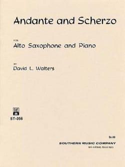 Andante And Scherzo David L. Walters Partition laflutedepan