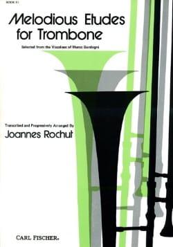 Melodious Etudes For Trombone Volume 3 Joannes Rochut laflutedepan