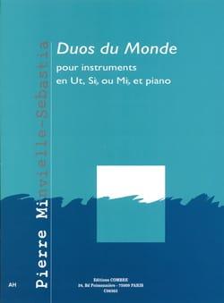 Duos du monde Pierre Minvielle-Sebastia Partition laflutedepan