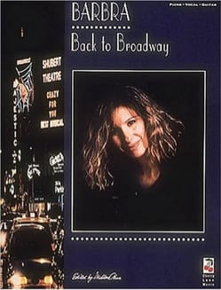 Barbra Streisand - Zurück nach Brodway - Partition - di-arezzo.de