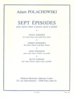7 Episodes Adam Polachowski Partition Caisse-claire - laflutedepan