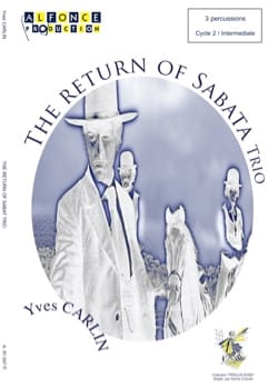 The return of Sabata trio Yves Carlin Partition laflutedepan