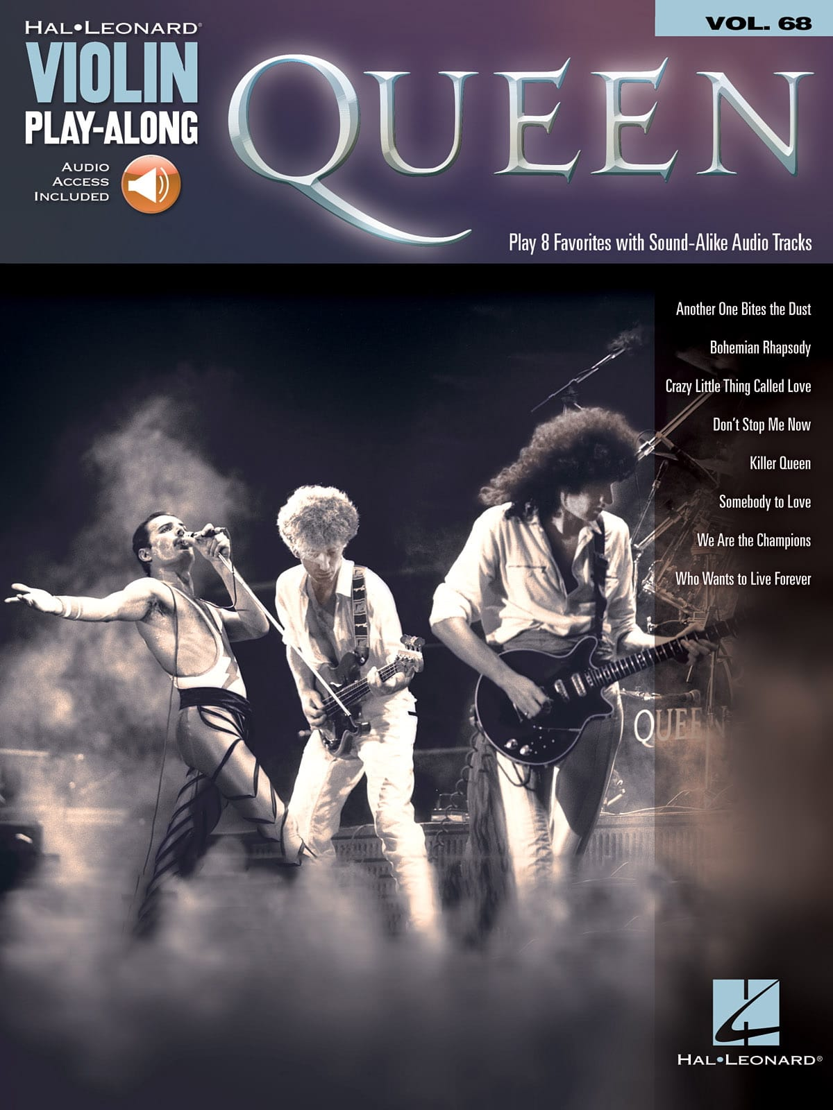 Violin Play-Along Volume 68 - Queen - Partition - laflutedepan.com