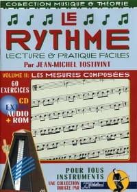 Le rythme volume 2: Les mesures composées laflutedepan