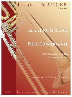 Pièce Concertante - Samuel Rousseau - Partition - laflutedepan.com