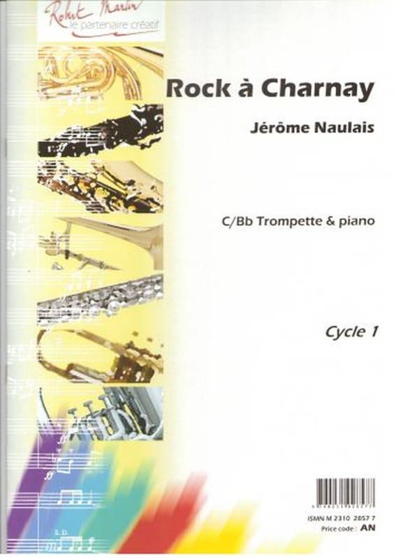 Rock à Charnay - Jérôme Naulais - Partition - laflutedepan.com