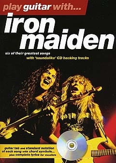 Play Guitar With... Iron Maiden Maiden Iron Partition laflutedepan