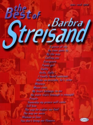 The Best Of Barbara Streisand Barbara Streisand Partition laflutedepan