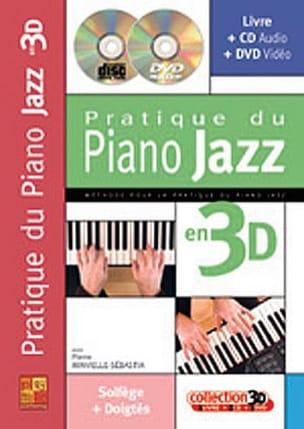 Pratique du piano jazz en 3D Pierre Minvielle-Sebastia laflutedepan