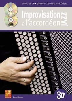 Manu Maugain - Improvisation Jazz with accordion in 3D - Partition - di-arezzo.com