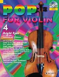 Pop for Violin Volume 4 - Bright Eyes Partition laflutedepan