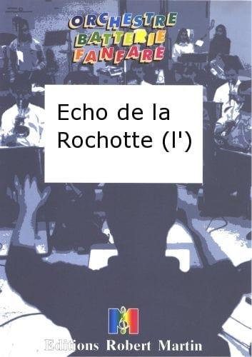 L'écho de la Rochotte - Waele E. de - Partition - laflutedepan.com