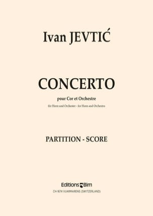 Concerto Ivan Jevtic Partition Cor - laflutedepan