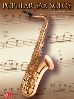 Popular sax solos Partition Saxophone - laflutedepan