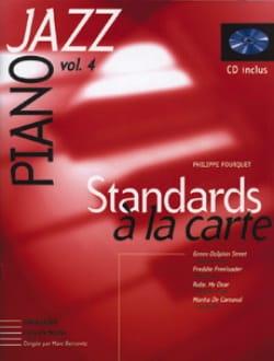 Standards A la Carte Volume 4 Philippe Fourquet Partition laflutedepan