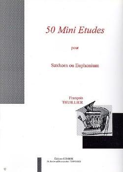 50 Mini Etudes François Thuillier Partition Tuba - laflutedepan
