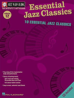Jazz play-along volume 12 - Essential Jazz Classics laflutedepan