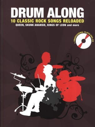 Drum along - 10 Classic rock songs reloaded Partition laflutedepan