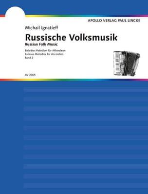 Russische Volksmusik Volume 2 Partition Accordéon - laflutedepan