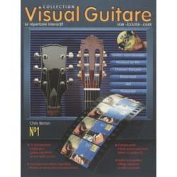 Visual Guitare N° 1 Rom - Chris Berton - Partition - laflutedepan.com