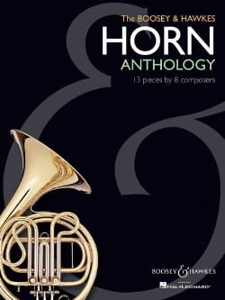The Boosey & Hawkes Horn Anthology Partition Cor - laflutedepan