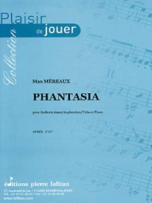Phantasia - Max Méreaux - Partition - Tuba - laflutedepan.com
