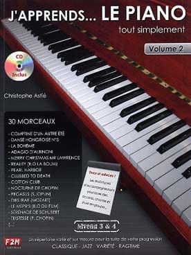 J'apprends... le piano tout simplement volume 2 - laflutedepan.com