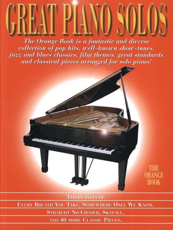 Great Piano Solos - The Orange Book - laflutedepan.com