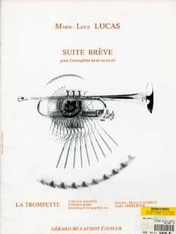 Suite Brève Marie-Luce Lucas Partition Trompette - laflutedepan