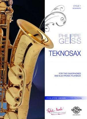 Teknosax Philippe Geiss Partition Saxophone - laflutedepan