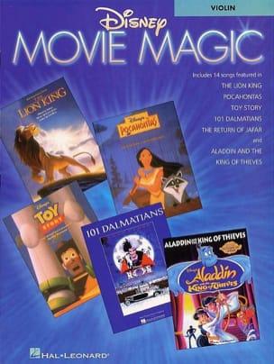 Disney Movie Magic DISNEY Partition Violon - laflutedepan