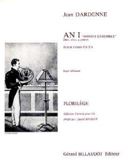 An I Jouons Ensemble Jean Dardenne Partition Cor - laflutedepan