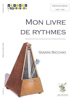 Mon Premier Livre de Rythmes Gianni Sicchio Partition laflutedepan