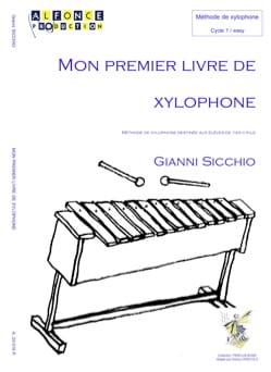 Mon Premier Livre de Xylophone Gianni Sicchio Partition laflutedepan